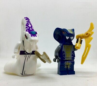 PYTHOR & SLITHRAA  SNAKE  Ninjago minifigure lego movie anacondrai garmadon