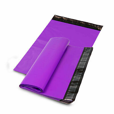 100 12x15.5 PURPLE Poly Mailers Shipping Envelope Shipping Bags Boutique Couture