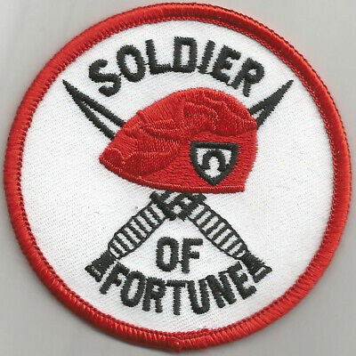** Vintage Soldier of Fortune Military Enamel Pin Badge #19
