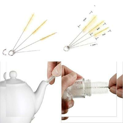KungFu Mall 4 PCS Tube Pipe Straw Brushes for Bottle Glasses Cleaning