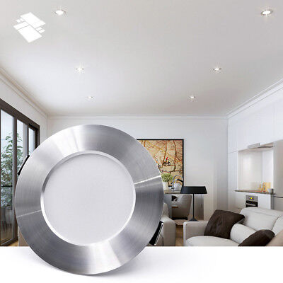 LED Panel Downlight Dimmable Recessed Ceiling Light 5W 7W 9W 12W 15W Lamp Acces