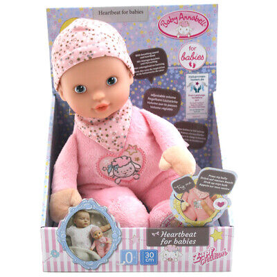 ZAPF Baby Annabell Heartbeat For Babies Doll 30cm
