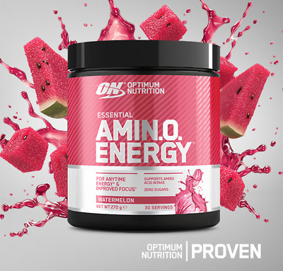 ON Optimum Nutrition Amino Energy - 270g - Gold Standard Pre-Workout BCAA Powder