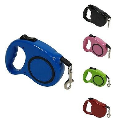 Pet Dog Training Lead Puppy Leash Collar Harness Long Line Strong Rope 5M