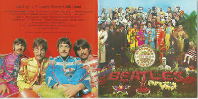 CD The Beatles ‎Sgt. Pepper's Lonely Hearts Club Band Parlophone ITALY 2012