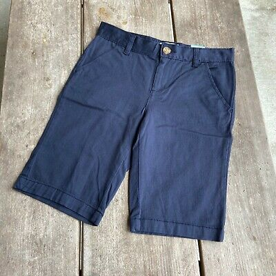 Girls Old Navy NEW NWT Classic Rise Blue Uniform Shorts NEW NWT Size 14