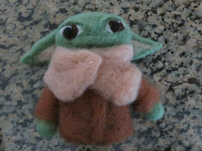 Star Wars Baby Yoda Felted Wool Figure The Mandalorian