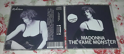 Madonna - CD The Fame Monster (VS Lady Gaga) RARE FAN EDITION - 11 Remixes