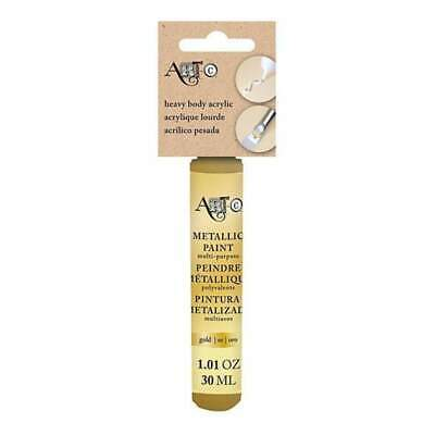 Art-C Heavy Body Acrylic Paint 30Ml - Metallic Gold
