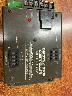 Used - Dedenbear Products -Throttle Stop Controller Model TSC-2