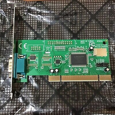 4 x Netmos PCI, 1- Parallel Port Adapter. 9835 R1 8873