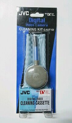 JVC Digital Video Camera Cleaning Kit Mini DV Cassette