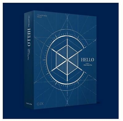 HELLO Chapter 2. HELLO, STRANGE PLACE by CIX 2nd EP Album [Hello Ver.] Blue