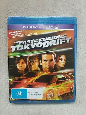The Fast And The Furious Tokyo Drift Blu Ray