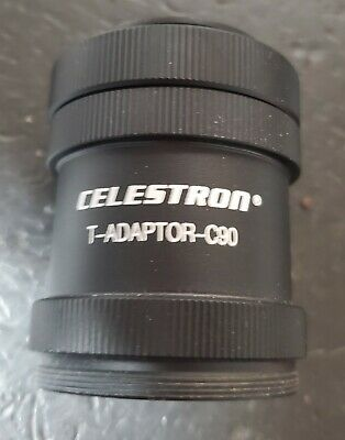 Celestron #93635-A T-Adaptor-C90 Camera Adaptor For C90, NexStar 4SE Telescope