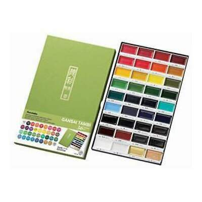Kuretake Gansai Tambi Set - 36 Colours Assorted Colours