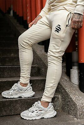 SNRS ATTIRE Off White Core Joggers Hera Gym Sik Sin 11 Palm Off White
