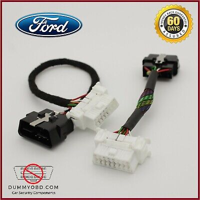 Ford OBD2 Port With Mixed Wires And Decoder Dummy Fake OBD anti theft security