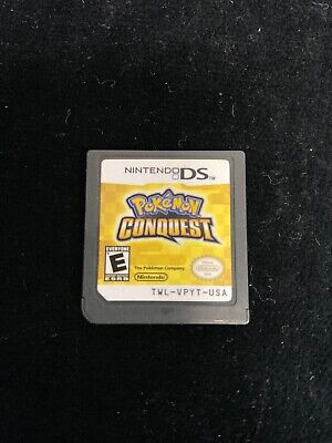 Pokemon Conquest Game Cartridge Only Nintendo DS Authentic
