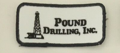 Pound Drilling Inc advertising patch 2 X 4 #3382