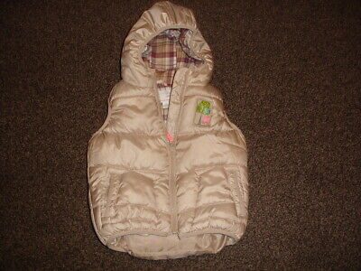 Superb Infant Girls Next Padded Gilet - Age 2-3 Years