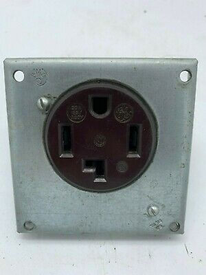 GE General Electric 30A 125/250V Receptacle 14-30R