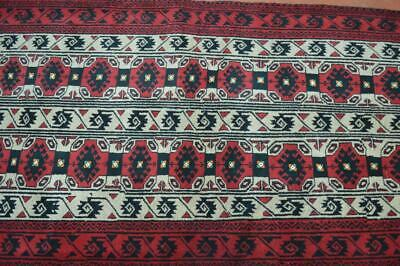 3 x 6'4 Fine Quality AllOver Design Hand Knotted Handmade Oriental Wool Area Rug