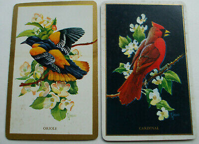 Two Birds Mint Pairs Stunning Swap Playing Cards