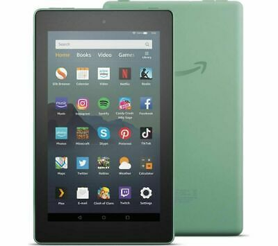 Amazon Kindle Fire 7 Tablet with Alexa 16 GB SAGE GREEN 9th Gen (2019) New Model