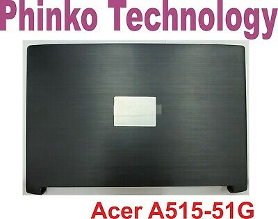 NEW Acer Aspire 5 A515-51 Bezel and Top Cover LCD Back Lid + Hinges Grey Color