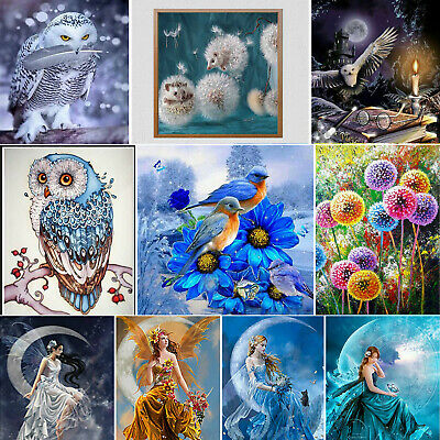Full Drill 5D DIY Diamond Painting Cross Stitch Embroidery Art Home Decor Kits