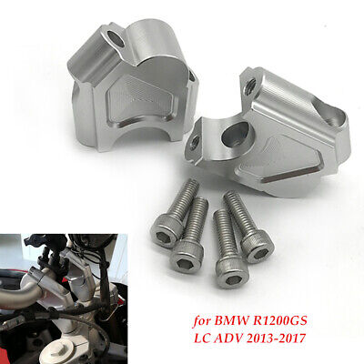 Motorcycle risers Height Adapters Modified Fit for BMW R1200GS LC ADV 13-17 bolt