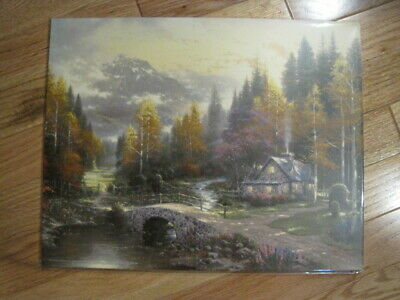 "Thomas Kinkade The Valley of Peace Paper Art Print 11"" x 14"""