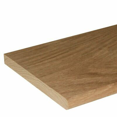Oak Window Board 2.3m (Various Sizes) Solid Prime American White Hardwood Sill