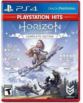 Horizon Zero Dawn Complete Edition PS4 HITS Sony PlayStation 4
