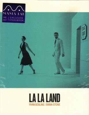 NEW La La Land Full Slip SteelBook Blu-ray MANTA LAB EXCLUSIVE Hong Kong - Mint