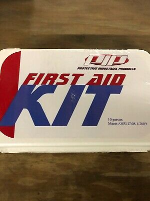 PIP First Aid Kit 10 person Expired