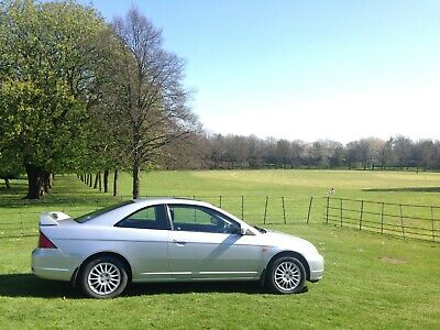 2002 Honda Civic Coupe 1 7 Petrol Vtec Silver Top Spec