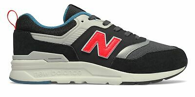 New Balance Kid's 997H Big Kids Unisex Shoes Black with Red
