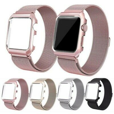 For Apple Watch Series 5 4 3 2 1 Magnetic Milanese Loop Band 38mm 42mm 40mm 44mm