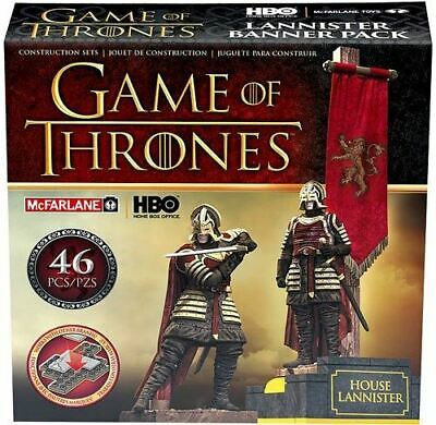 Game Of Thrones: Banner Construction Set - House Lannister NEW Sealed NIB