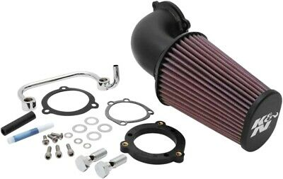 K & N Aircharger Performance Air Intake System - Textured Black 57-1126