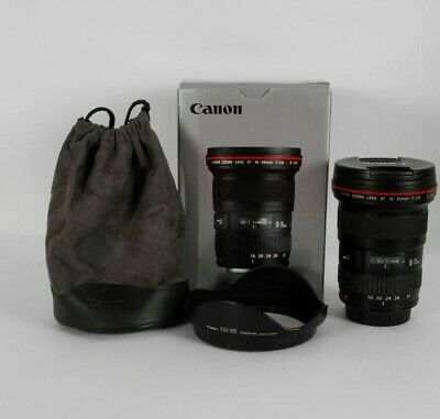 Canon EF 16-35mm f/2.8L II USM (with original box, lens hood and case)