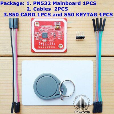 NFC RFID Card Reader Writer PN532 Development Board Tag Suit Kits For Android