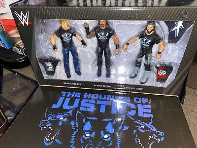 WWE Mattel The Shield 3-pack Exclusive Elite Figure Collectors Box Set Roman