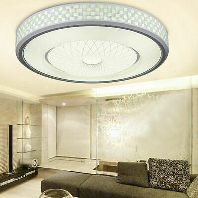 LED Bathroom Ceiling Light Round Panel Down Living Room Kitchen Lights Wall Lamp