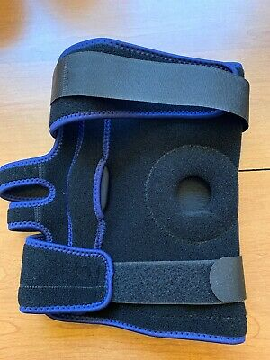Nvorily Plus Sized Open Patella Knee Brace Support 2XL USED