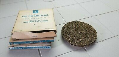 THREE NEW Edwards 290 DIXIE FLOOR TREAD SWITCH Vintage NOS Electrical MELOCALL