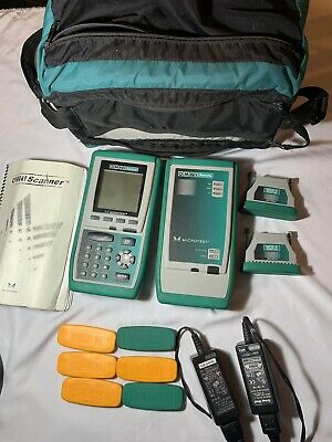 Fluke Microtest OMNI Scanner with OMNI Remote and 2x MOD-8 Adapter Free U.K.POST
