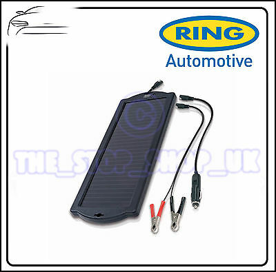 Ring 12V Solar Power Battery Maintainer Trickle Charger RSP150